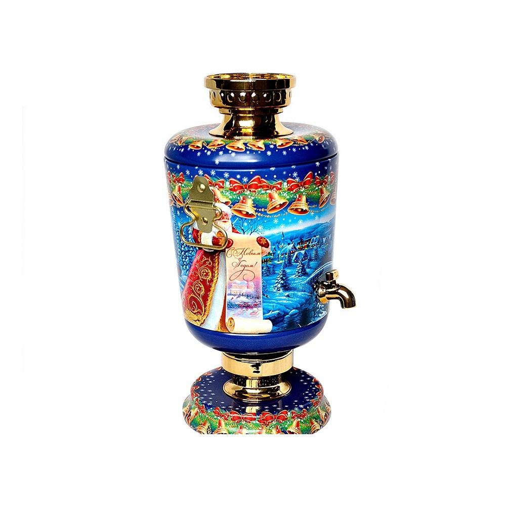 new design empty samovar tin for tea