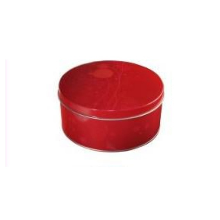 Nice Round Metal Cosmetic Tin Box Metal Cans for Gift