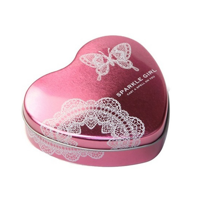 Bodenda customized heart shape weddinggift tin box turkey for candy