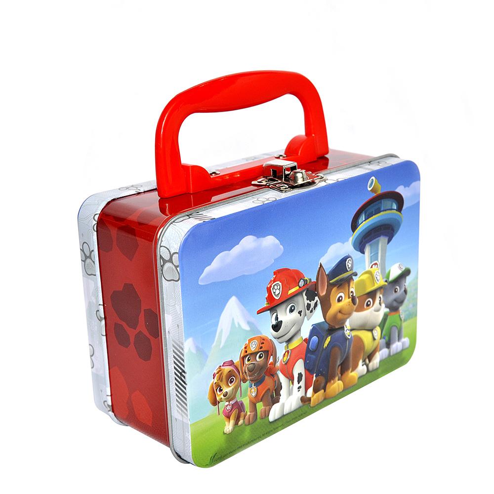 Wholesale tin lunch box custom tin metal lunch box handle