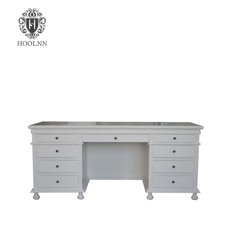 Antique French-style Oak Office Desk