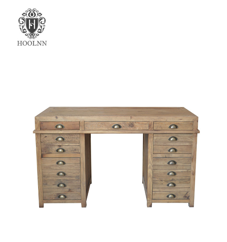 French Style Partners' Reclaimed Wood Home Office Desk HL890R
