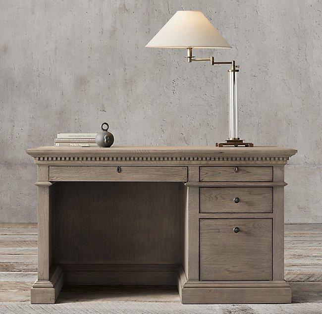 French Vintage St. James Crafted Home Offcie Desk HL211