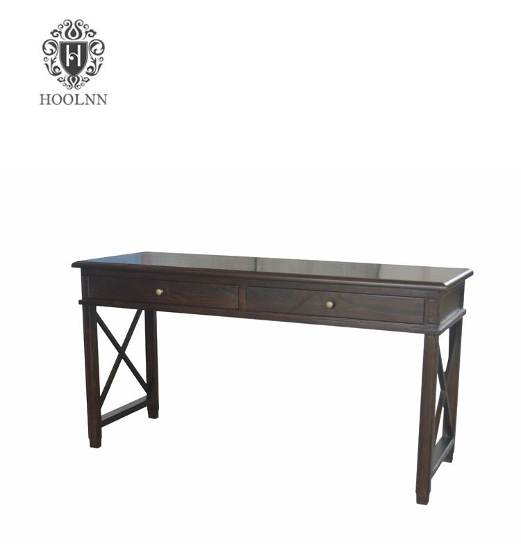 Antique French-style Oak Office Desk HL540-107