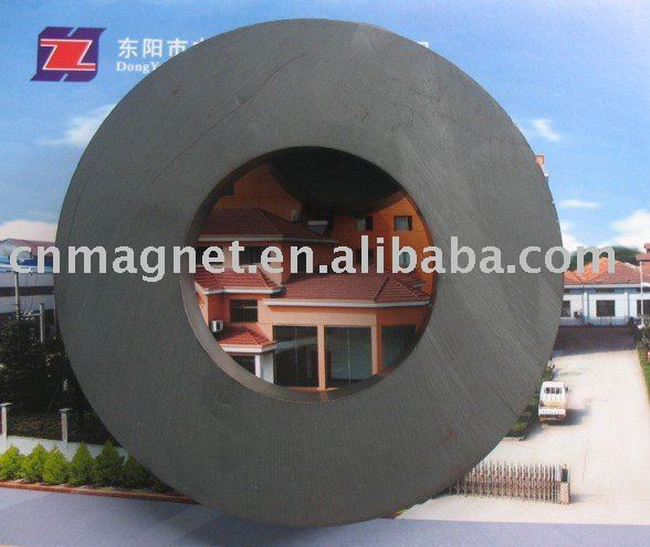 Hard Ring Speaker Ferrite Magnet