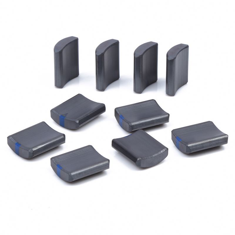 Permanent Ferrite Magnets For Motor , Ferrite Arc Magnet