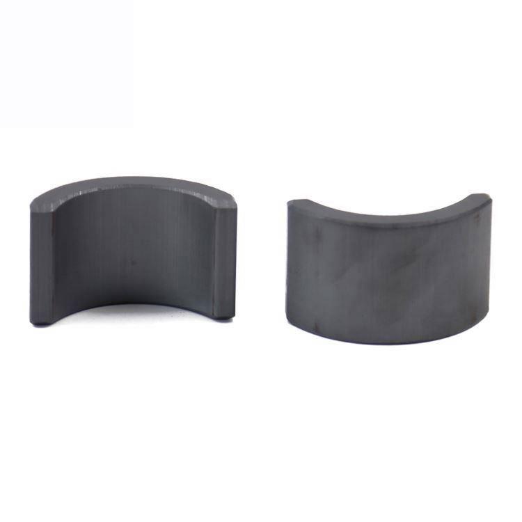 Strong Permanent Ferrite Arc Magnet For Motor Segment Magnets