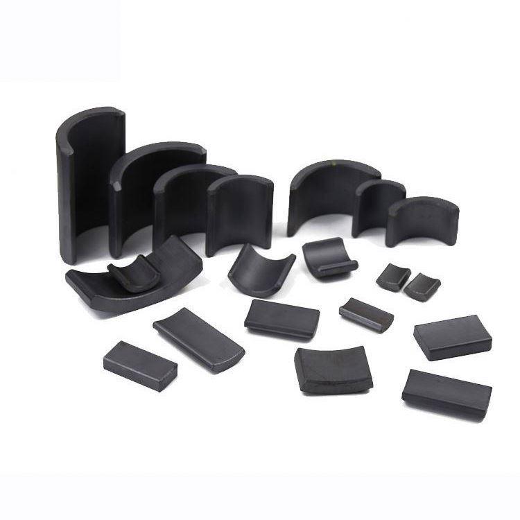 Motor Segment Arc Magnets High Performance Ferrite Magnets
