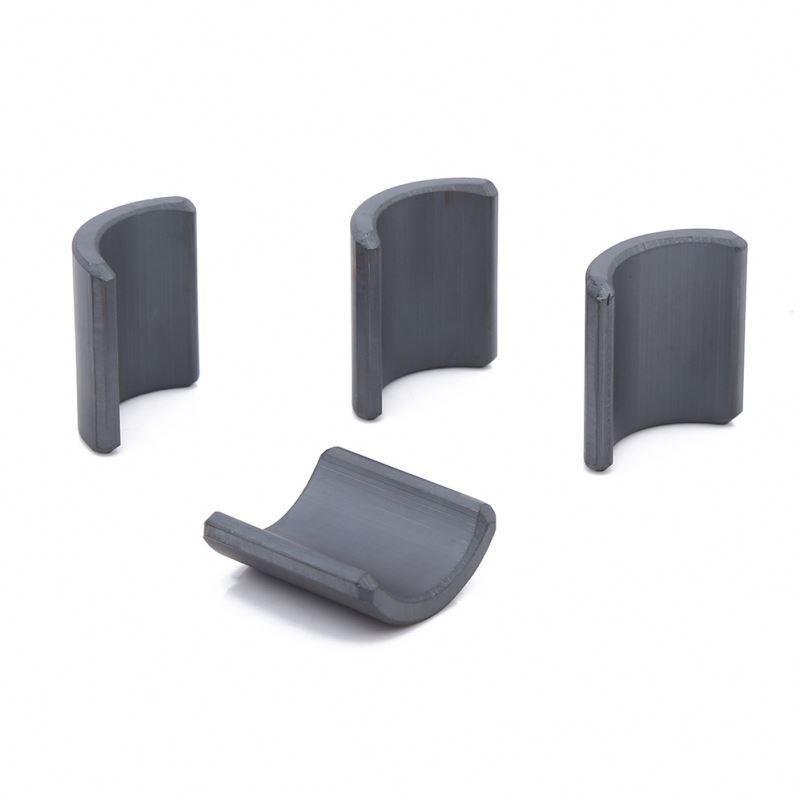 Wholesale  Arc Ferrite Core Magnet For Ceiling Fan Magnet