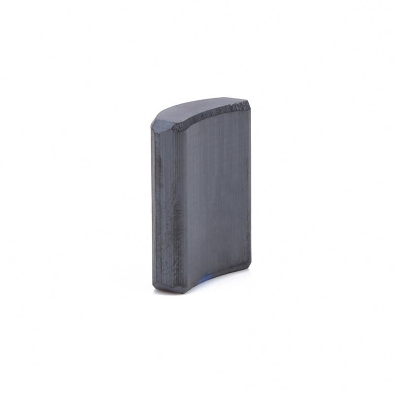 Custom Size Arc Ferrite Magnet For Industrial Motors