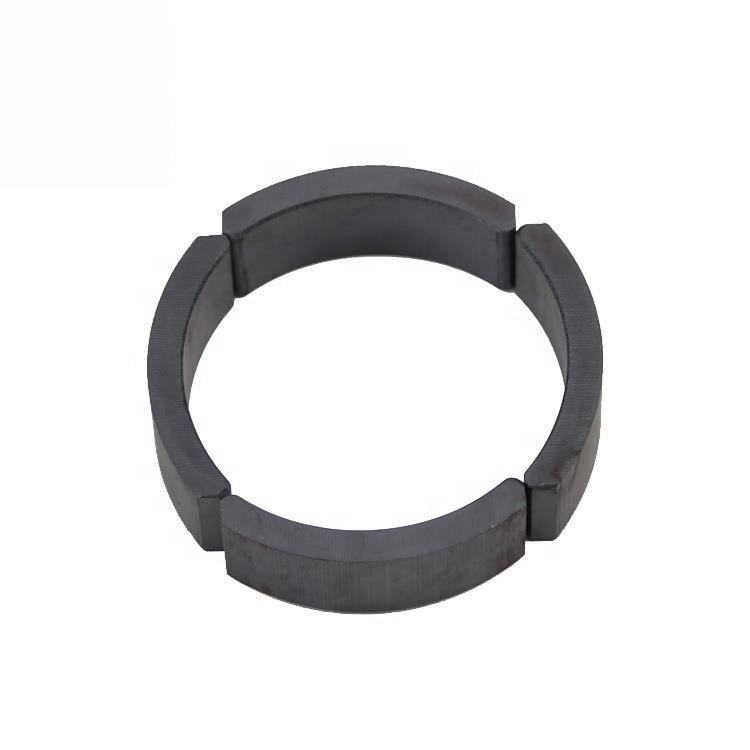 High quality high performance ceramic segment arc FB5B ferrite magnet for motor