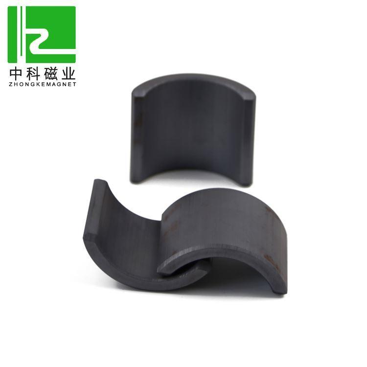 Segment  Arc Ferrite Magnet For Motor