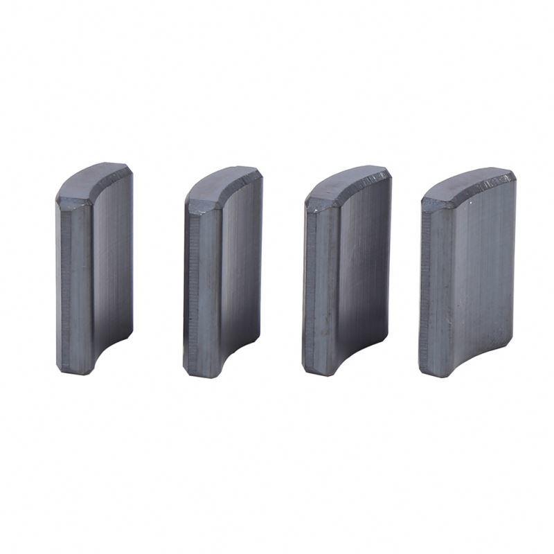Arc Ferrite Magnet Curve Ferrite Magnet Ferrite Motor Magnet