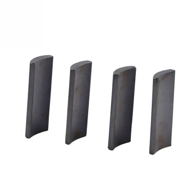 China Best Supplier Wholesale Permanent Y30 Motor Arc Ferrite Magnet