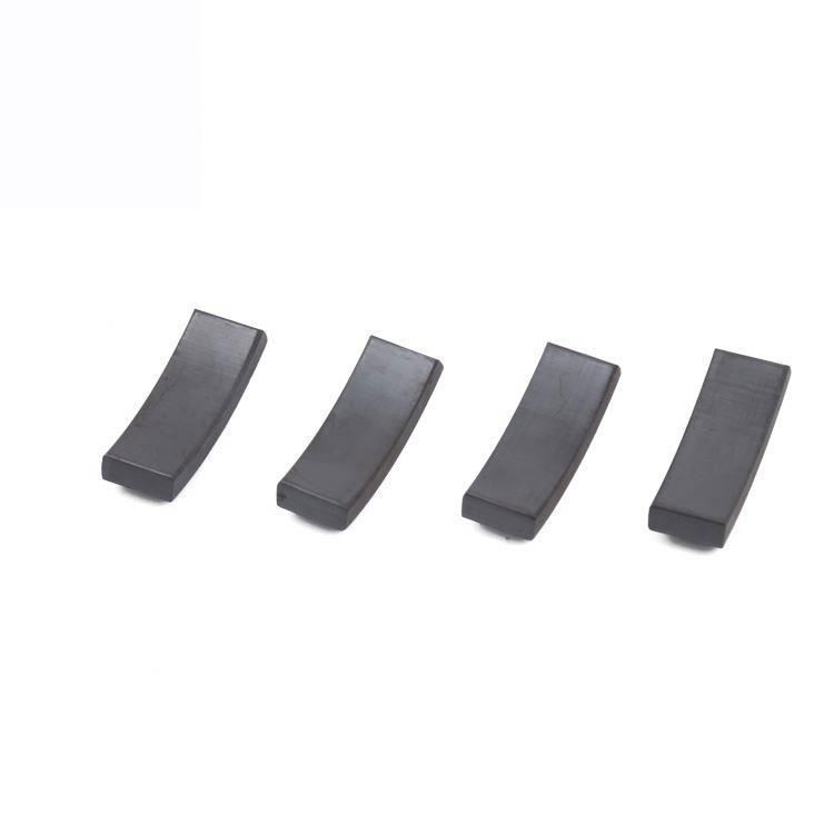 Custom Y25 Y26 Y28 Y30 Y32 Arc Ferrite Magnet For Industrial Motors
