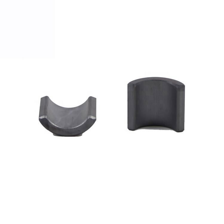 Customized tile shaped Arc type Ferrite Magnet with high magnetic for motor