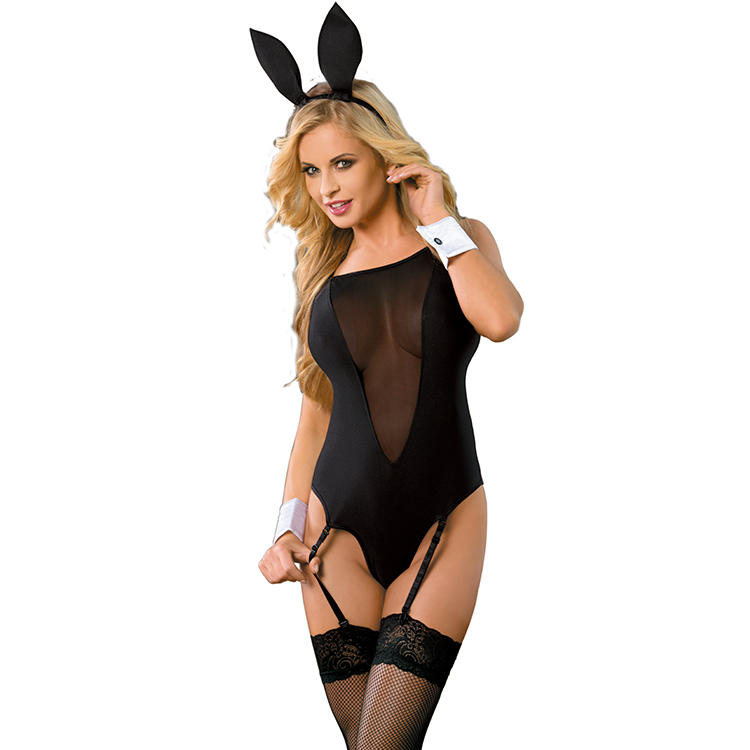 Sunspice hot sale New Style wholesale mature woman sexy lingerie bunny costume