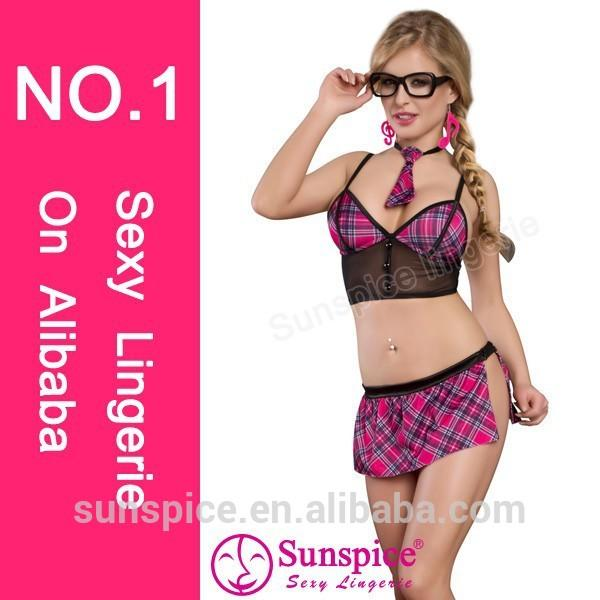 2015 Sunspice hot sale sexy lingerie manufacturer quality guarantee sexy school girl costume ideas for women japanese teacher