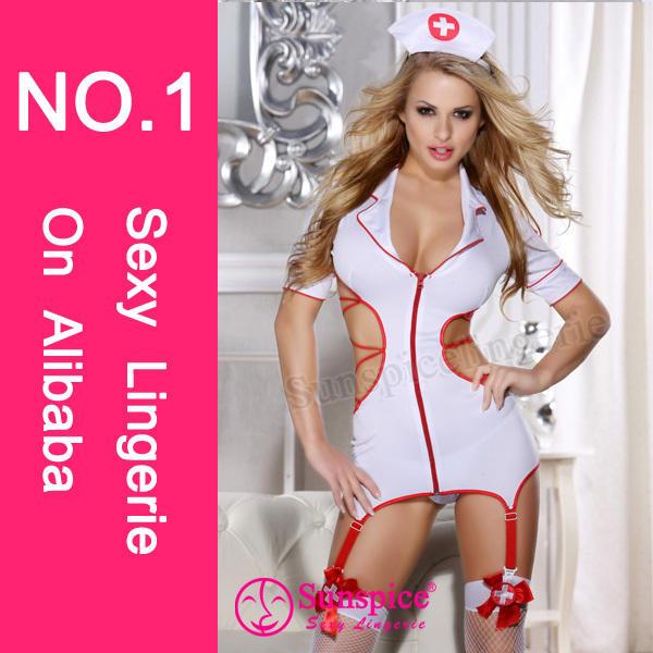 Sunspice hot sale lingerie manufacturer quality guarantee xxx sexy nurse photos sexy costume dress sexy nurse photos costume
