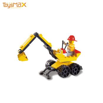 New Design Mini Excavation Engineer Series Imagination Building Block