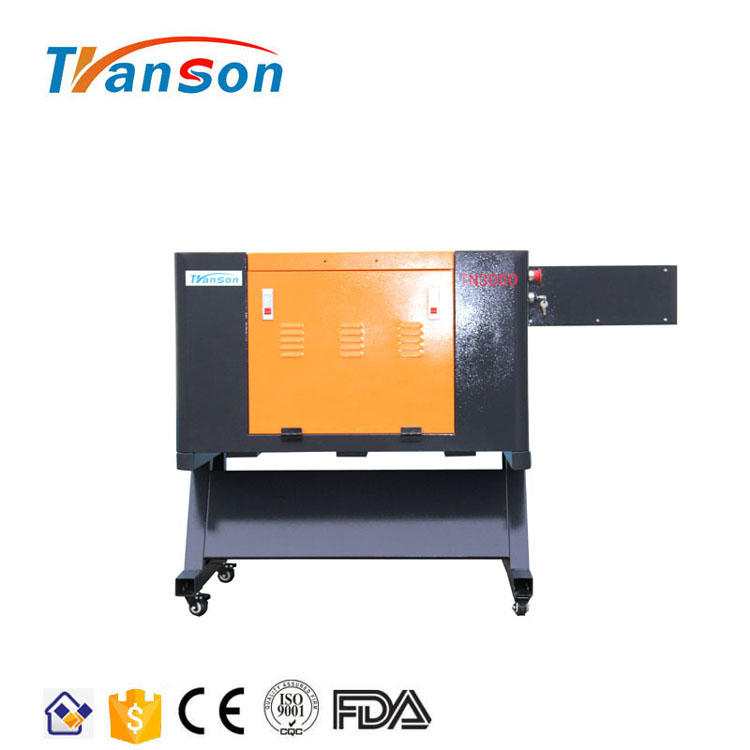TN3050 80W Co2 Laser Cutting Machine Coconut Shell Laser Cutter With Motorized Worktable