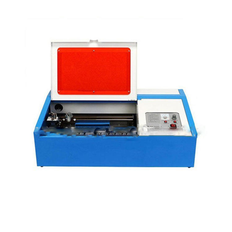 Mini 50w co2 laser engraving and cutting machine TS40