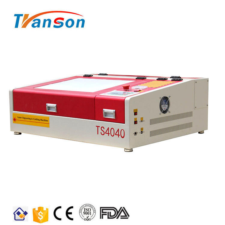 40W 4040 Paper Rubber CO2 Laser Engraving And Cutting Machine For Sale