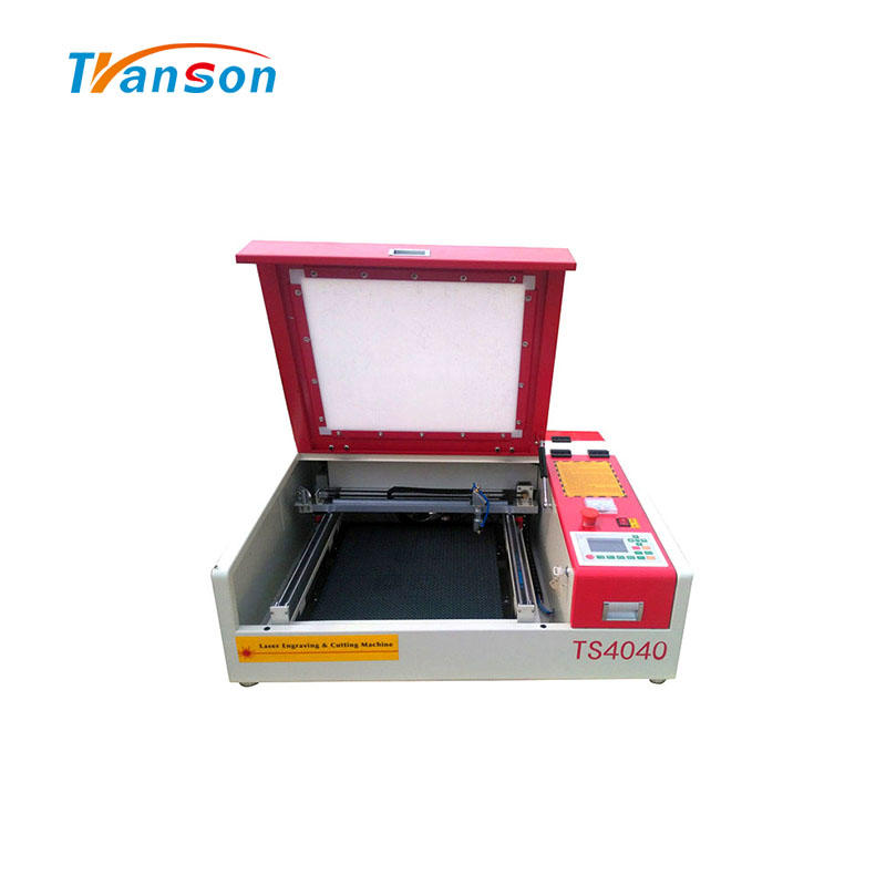 MINI CO2 Laser Cutting Engraving Machine TS4040 for Nonemetal Wood Leather Paper Acrylic Mdf Fabric