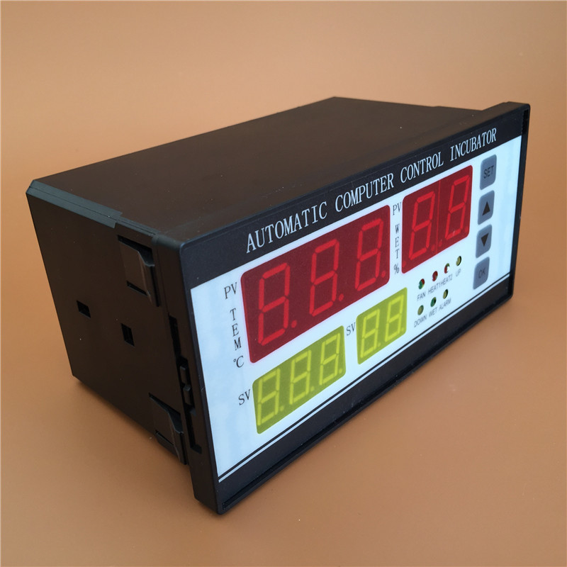Digital automatic egg incubator thermostat controller for humidity and temperature controlling XM-18