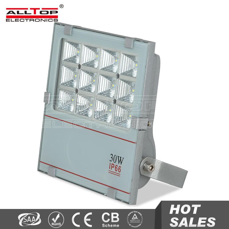 30w high lumen explosion proof portable smd led slim flood light