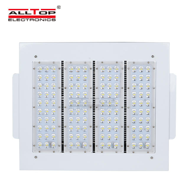 outdoor 120w bridgelux cob led gas station canopy light