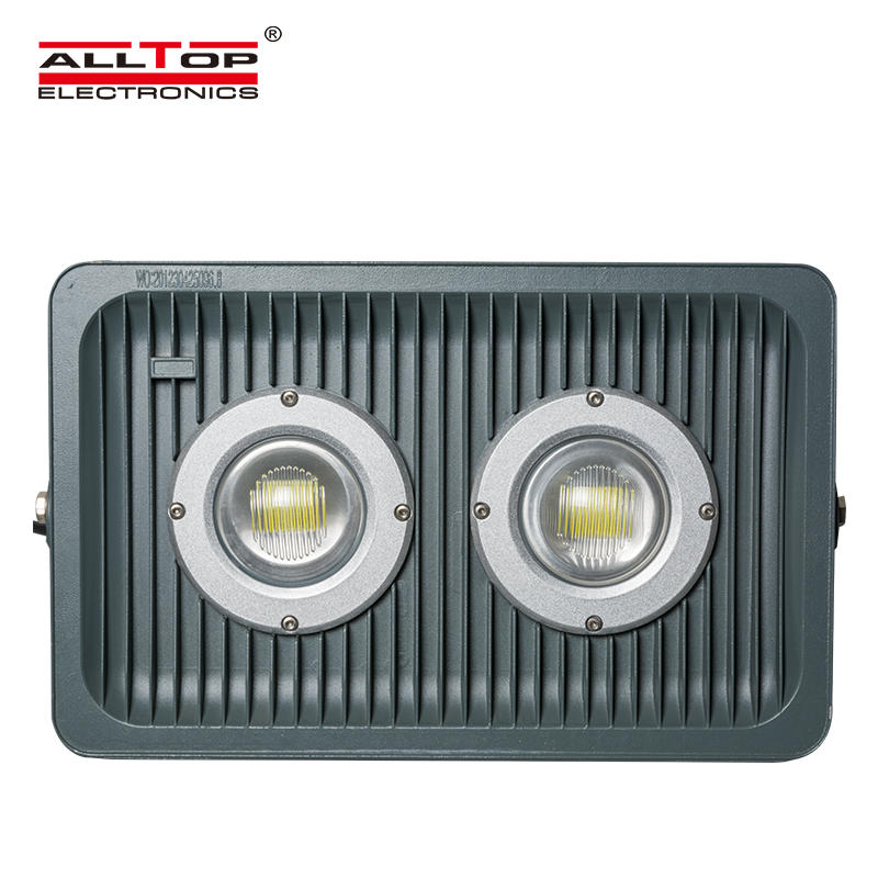 High brightness waterproof ip65 bridgelux cob led flood light 100 watt