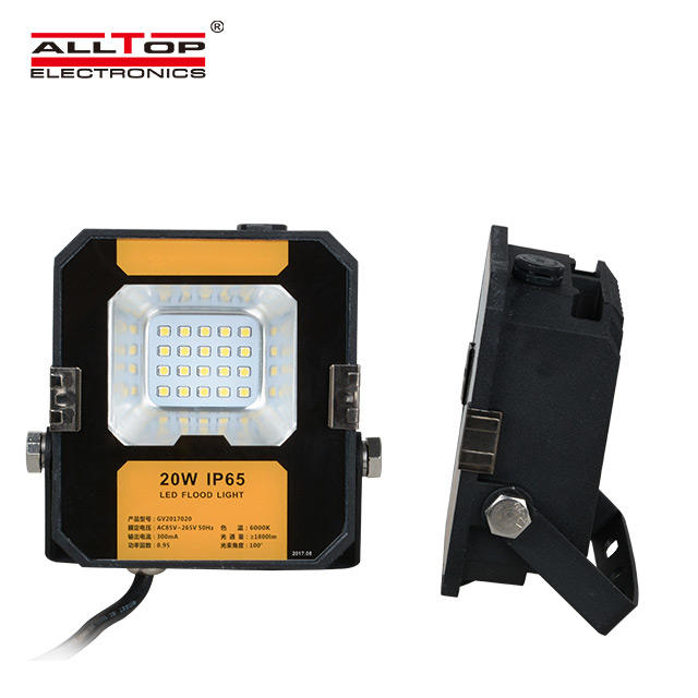 High quality outdoor waterproof IP66 Bridgelux portable 20w 50w 100w 150w 200w led flood light
