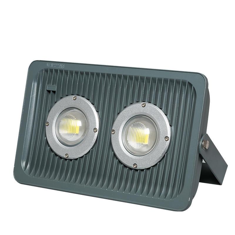 High brightness waterproof ip65 bridgelux cob led flood light 100 watt