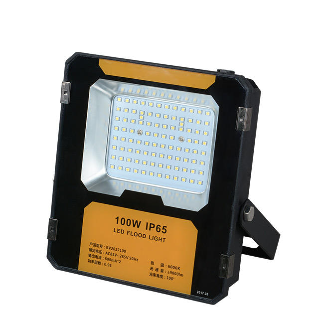 High quality IP65 waterproof outdoor Bridgelux 50 100 w led flood light