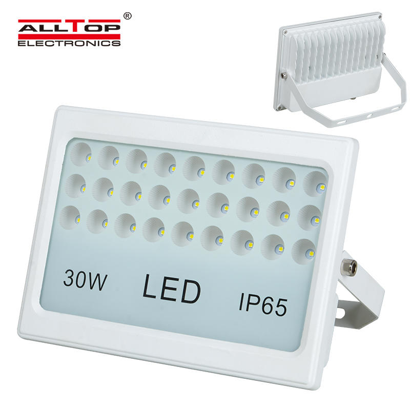 High quality die cast aluminum portable 30 watt led flood light