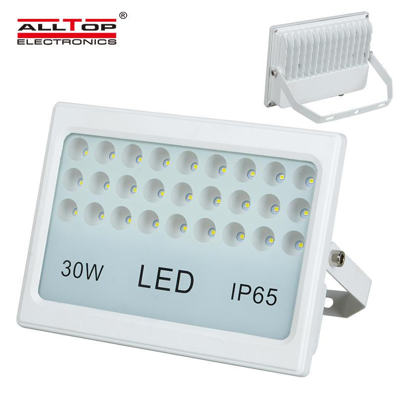 High quality die cast aluminum portable 30 watt led flood light