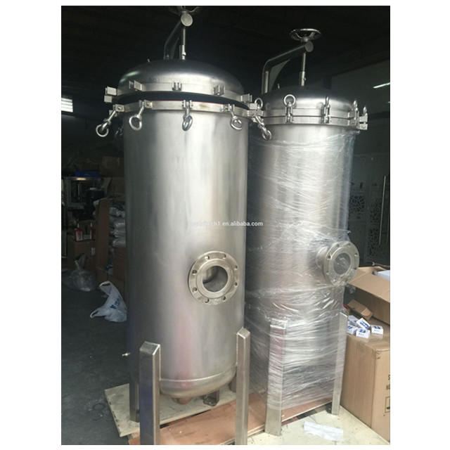 Hot sale SS bag filter with rocker arm