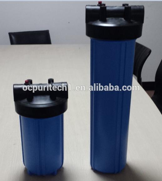 Brand New Brass thread high quality Big blue water filter housing