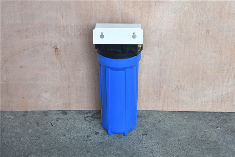 plastic blue water filter housing 10inch
