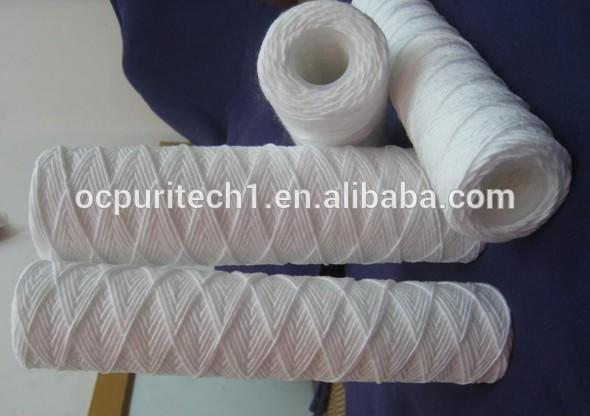 5 micron PP woven PP yarm PPY type water filter cartridges