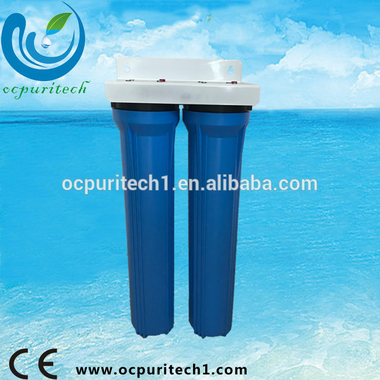 Good quality 20 inch big blue plastic water filter cartridge filter housing