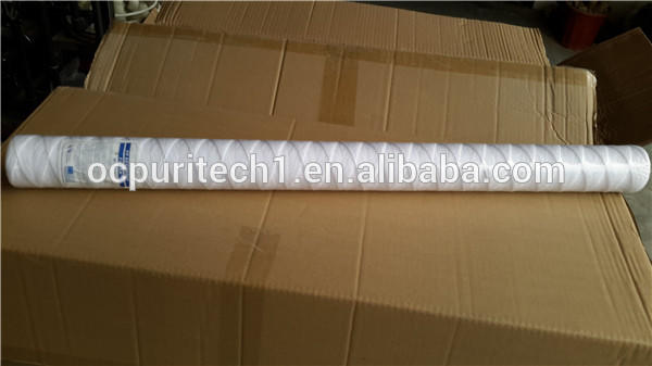 30'' 5 micron PP woven water filter cartridge for sale