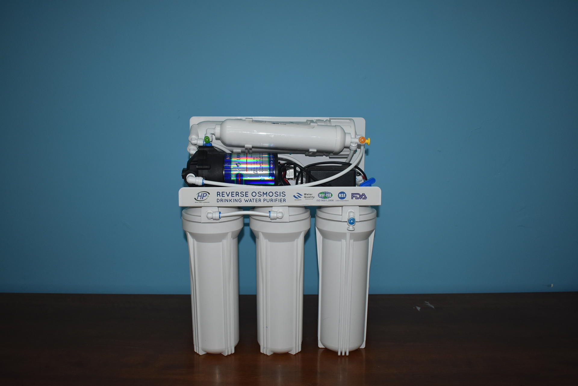 Home reverse osmosis wall mounted water purifier