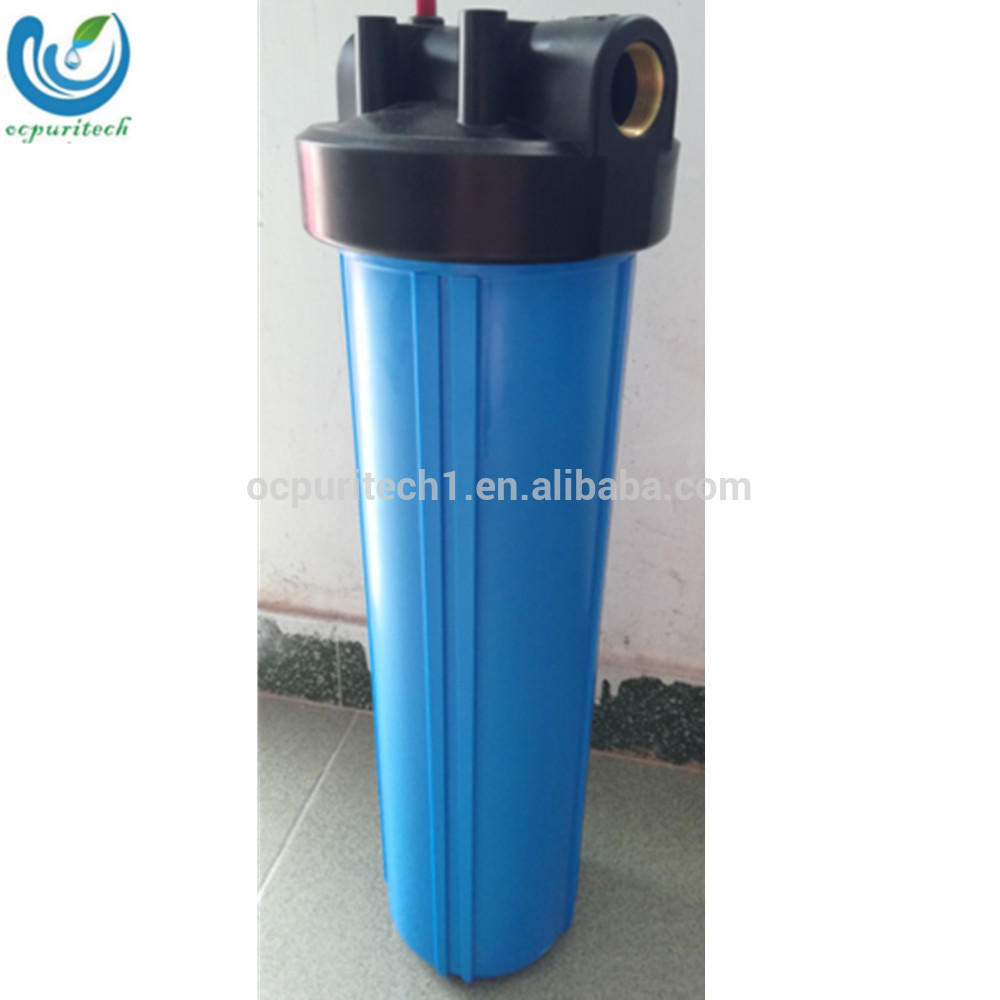 20 inch Double o-ring jumbo Big Blue Plastic Water Filter Housing