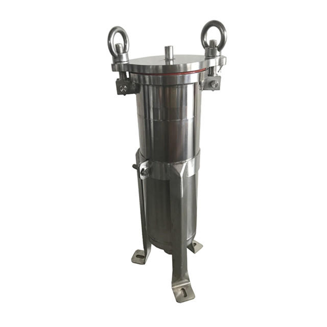 Stainless steel Bag filter housing for water treatment best selling