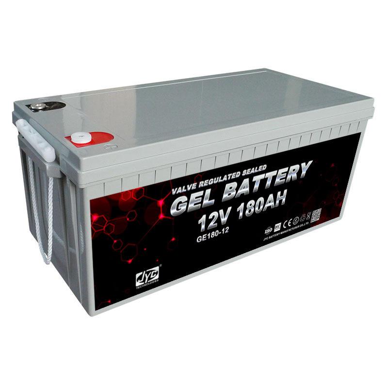 Newest Maintenance Free Gel Solar Battery 180Ah 12v