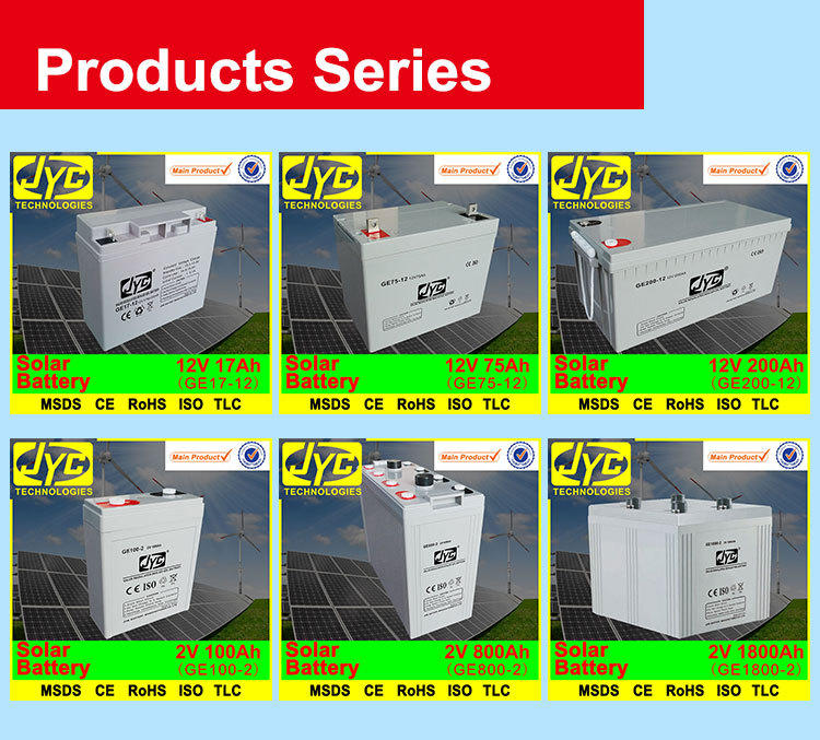 Long Life Deep Cycle Solar 12v 600Ah Battery