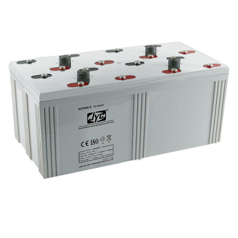 Hot products long life solar cell 2 volt 3000AH battery