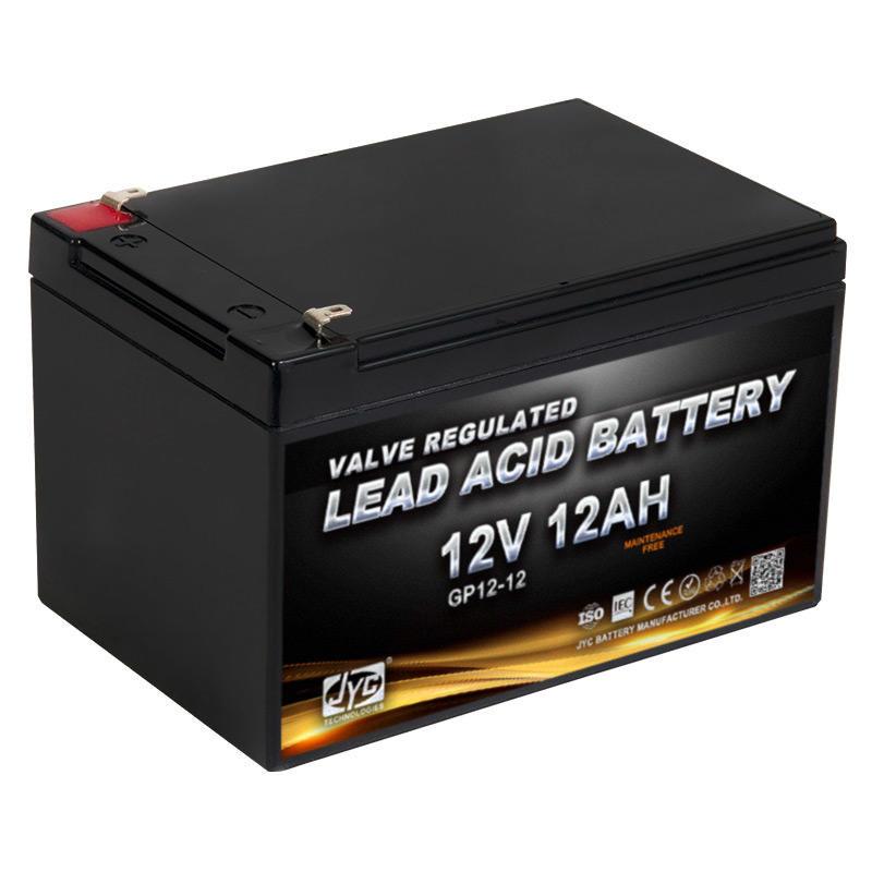 Hot Selling 12v 12ah Camper Solar Battery Free customization